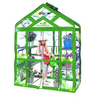 My First Greenhouse Ogrow Walk-in Kids 12-shelf Greenhouse