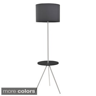 Modern Fusion Floor Lamp with Table