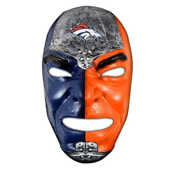 NFL Denver Broncos Fan Face