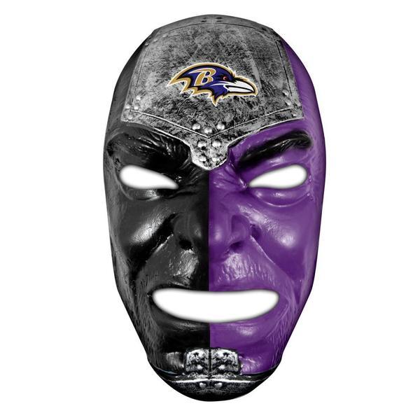 NFL Baltimore Ravens Fan Face