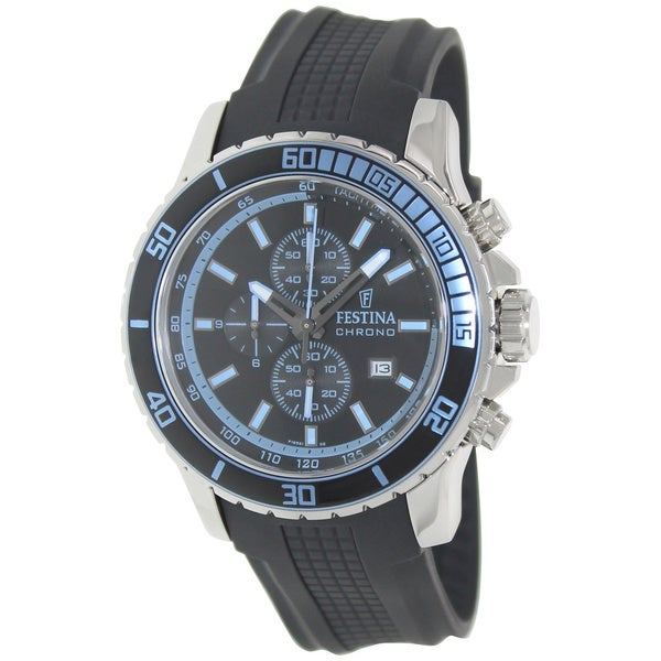 Festina Men's Sport F16561/2 Black Chronograph Watch