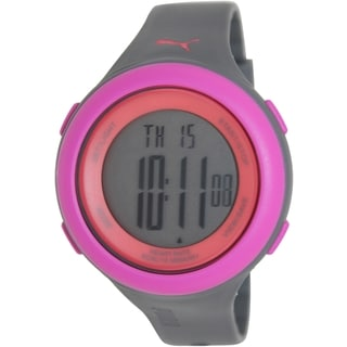 Puma Women's 'Fit' PU910961004 Grey Digital Sport Watch
