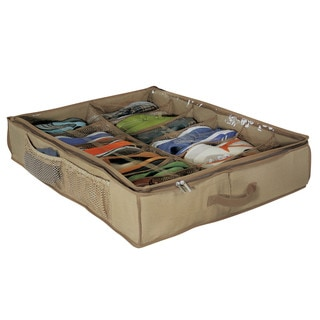 Richards Homewares Underbed 12-cell Shoe Chest and Cedar Inserts