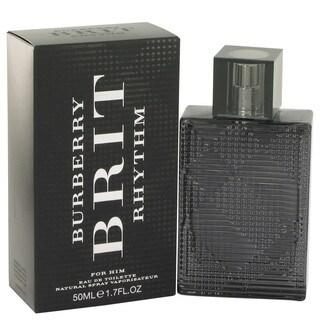 Burberry Brit Rhythm Men's 1.7-ounce Eau de Toilette Spray