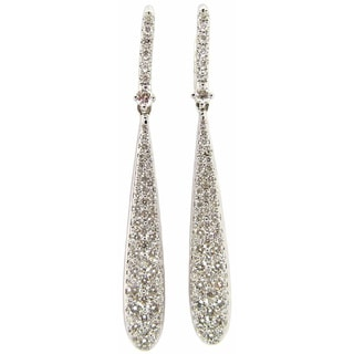 Pave Diamond Earrings Overstock™ Shopping The Best Prices line