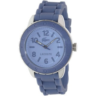 Lacoste Women's 'Rio' Purple Silicone Strap Watch