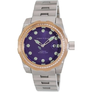 Android Men's 'Stance' Purple Dial Automatic Watch
