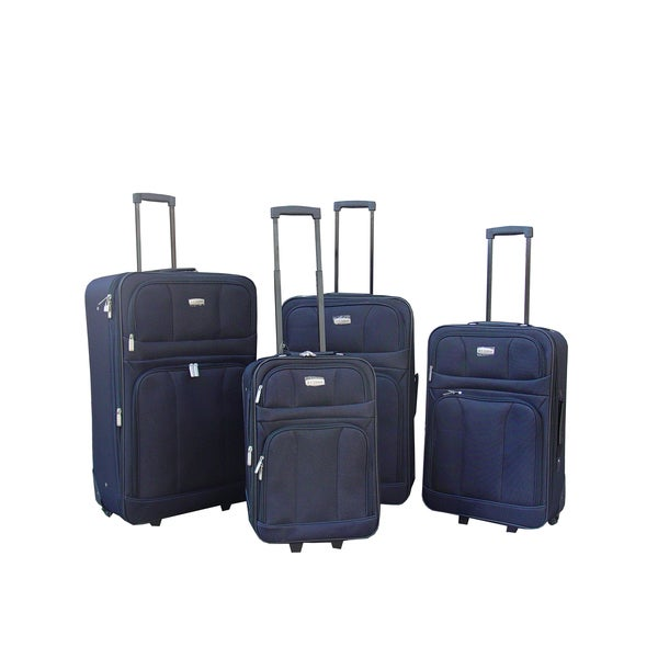 Hercules Luggage Scottsdale 4-piece Luggage Set
