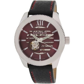 Android Men's Venona Purple Skeleton Dial Automatic Watch