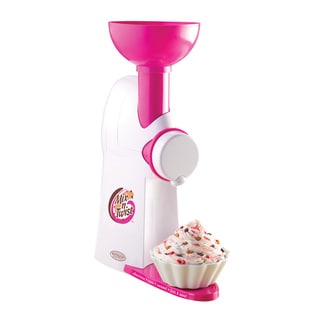Nostalgia Electrics MTC100 Mix 'N Twist Ice Cream & Toppings Mixer