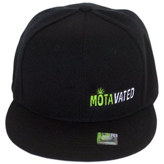 CYL Apparel Black 'MOTAvated' Snap-back Hat