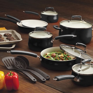 Paula Deen Savannah Collection 17-piece Aluminum Cookware/ Bakeware Set with $20 Mail-In Rebate