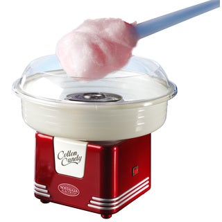 Nostalgia Electrics Retro Series Hard & Sugar Free Candy Cotton Candy Maker