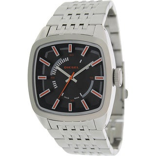 Diesel Men's Silver Stainless Steel Quartz Watch