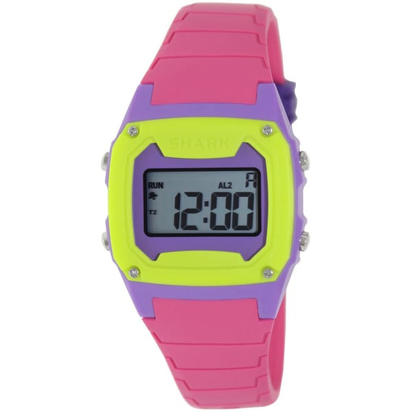 Freestyle Women's Shark Pink Resin Quartz Digital Watch