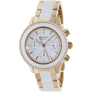 White Dkny Watch