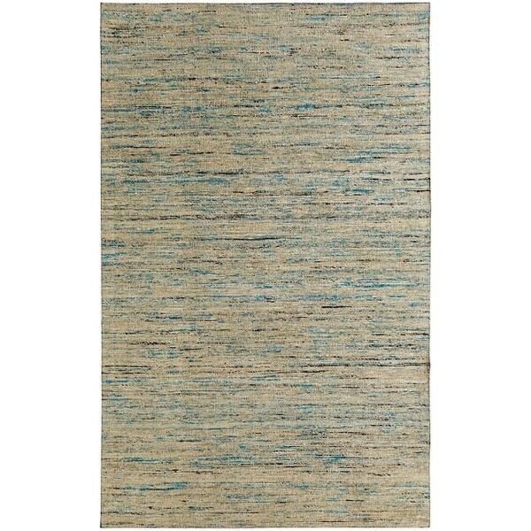 Loft Varigated Stripe Multi/ Grey Rug (4' x 6')
