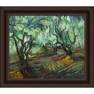 Vincent Van Gogh 'Olive Tree' Hand Painted Framed Canvas Art