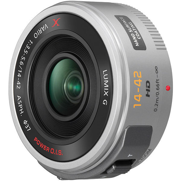 Panasonic Lumix G X Vario PZ 14-42mm f/3.5-5.6 ASPH Power O.I.S. Lens (New Non Retail Packaging)