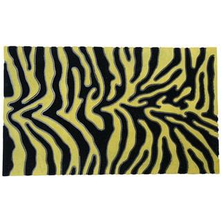 Rubber-Cal Wild! Rubber/ Coir Doormat (1'6 x 2'6)