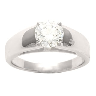 Bulgari Platinum 1 1/10ct TDW Diamond Ring (E, VVS1) (Size 7)