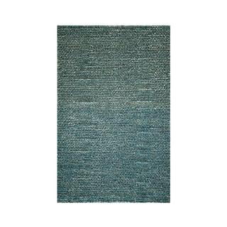Modern Town Hand-woven Blue Rug (3'6 x 5'6)