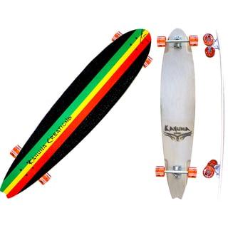 Kahuna Creations Beach Board Rasta 44-inch Longboard