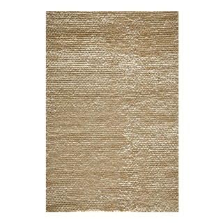 Modern Town Hand-woven White Area Rug (3'6 x 5'6)