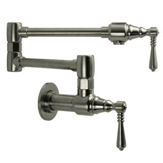 Fontaine Brushed Nickel Traditional Pot Filler Faucet