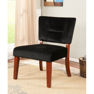 K&B Black Accent Chair