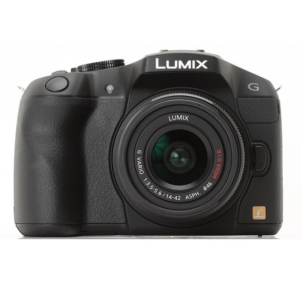 Panasonic Lumix DMC-G6 Black Mirrorless Digital Camera with 14-42mm Lens