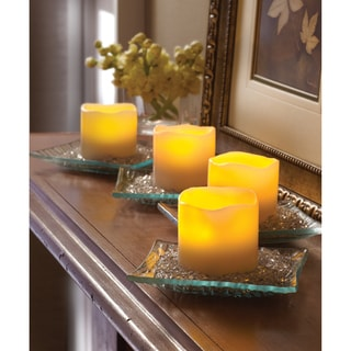 Sarah Peyton 4-piece LED Candle Set with Daily Timer