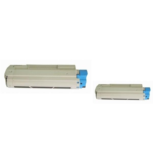 Insten Premium Black Color Toner Cartridge 44315304 for OKI C610