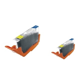 INSTEN Grey Ink Cartridge for Canon CLI-251XLGY (Pack of 2)