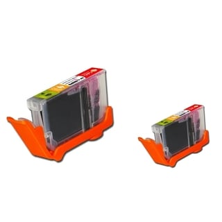 BasAcc Photo Magenta Ink Cartridge Compatible with Canon CLI-8PM (Pack of 2)