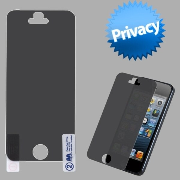 INSTEN Privacy Screen Protector for Apple iPhone 5