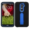 BasAcc Blue/ Black Case with Stand for LG D801 Optimus G2/ D800 G2