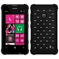 BasAcc Black/ Black TotalDefense Case for Nokia Lumia 520/ 521