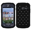 BasAcc Black/ Black TotalDefense Case for Samsung S738C Galaxy Centura