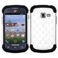 BasAcc White/ Black TotalDefense Case for Samsung S738C Galaxy Centura