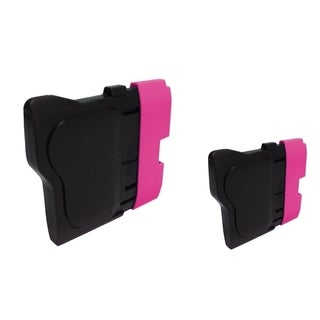 INSTEN 2-ink Magenta Cartridge Set for Brother LC61 M