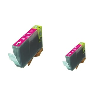 BasAcc 2-ink Magenta Cartridge Set Compatible with Canon BCI-5/6M
