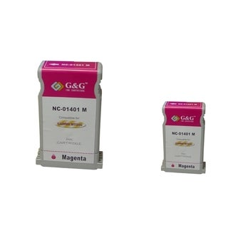 BasAcc 2-ink Magenta Cartridge Set Compatible with Canon BCI-1401M
