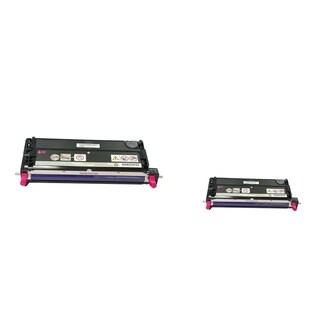 INSTEN 2-ink Magenta Cartridge Set for Dell 3110/ 3115