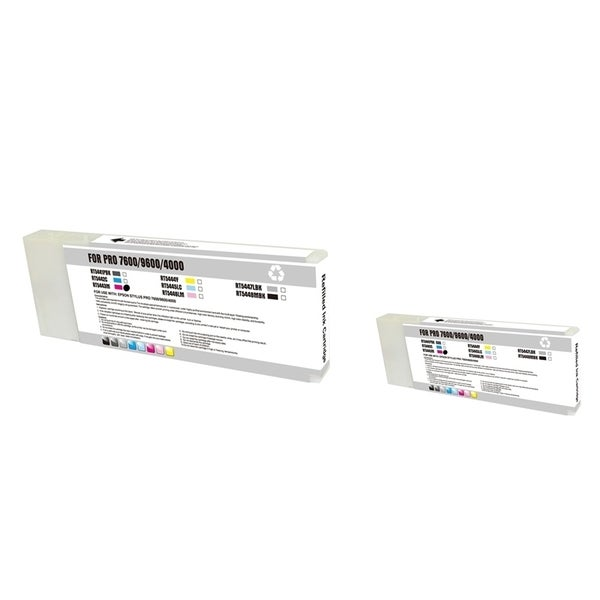 INSTEN Epson T544300 2-ink Magenta Cartridge Set (Remanufactured)