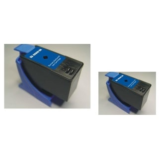 INSTEN Dell M4640 2-ink Black Cartridge Set (Remanufactured)