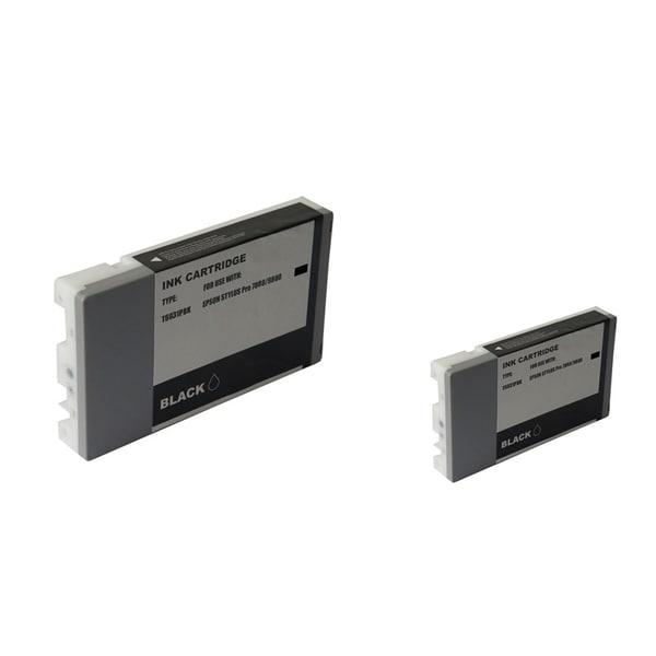 INSTEN Epson T6031PBK PBK 2-ink Photo Black Cartridge Set (Remanufactured)