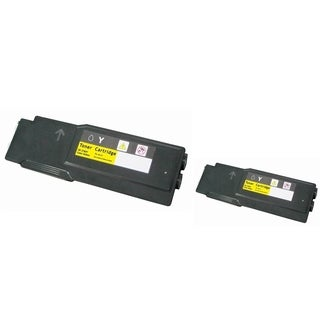 INSTEN 2-ink Yellow Cartridge Set for Dell 3760n/ 3760dn