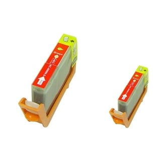 INSTEN 2-ink Green Cartridge Set for Canon BCI-6G