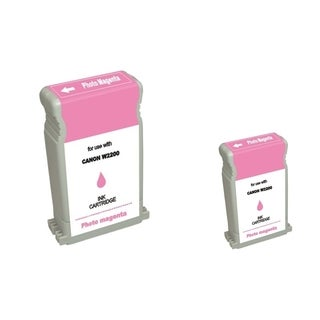 BasAcc 2-ink Magenta Cartridge Set Compatible with Canon BCI-1302PM